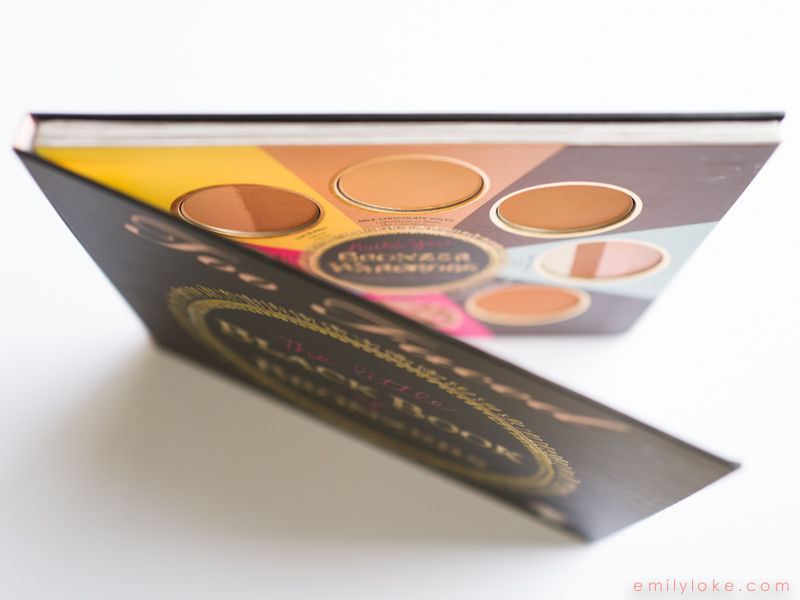 Too Faced Little Black Book of Bronzers Review2