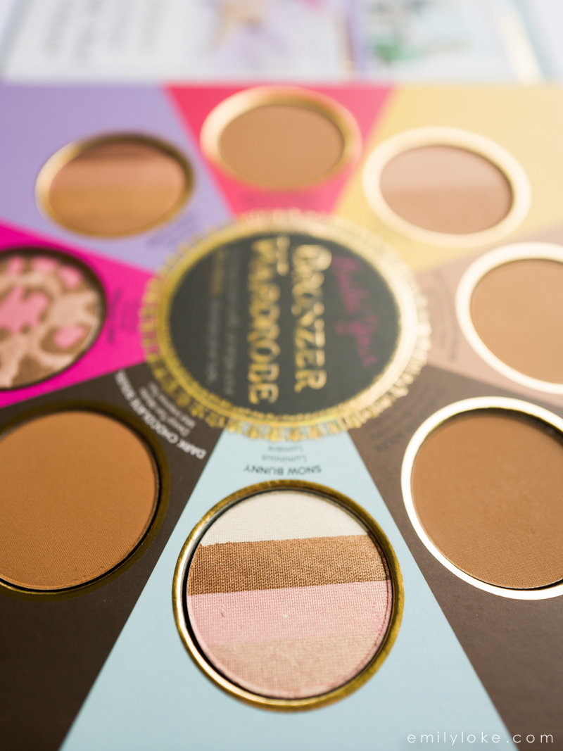 Too Faced Little Black Book of Bronzers Review7