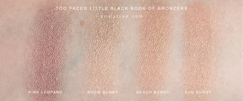 Too Faced Little Black Book of Bronzers9