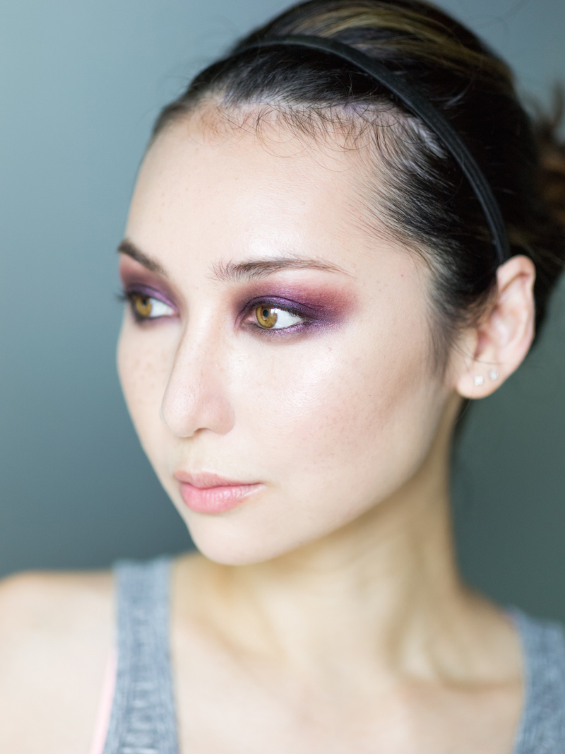dramatic purple smokey eyes5