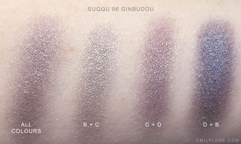 SUQQU 06 Ginbudou Swatches 2