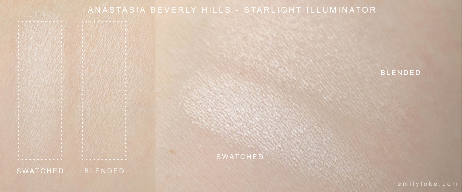 Anastasia Beverly Hills Starlight Swatch