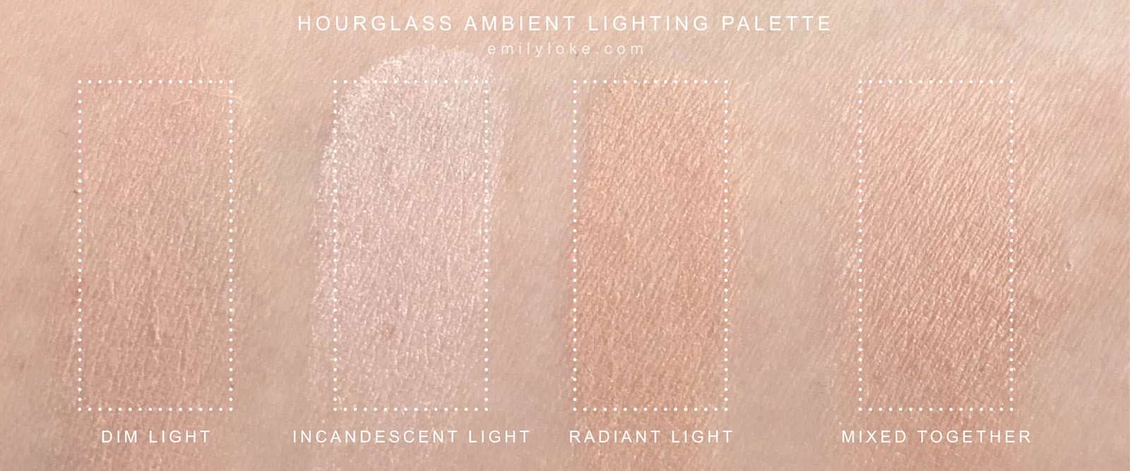 Hourglass Lighting Bronzer Review New Hourglass Ambient