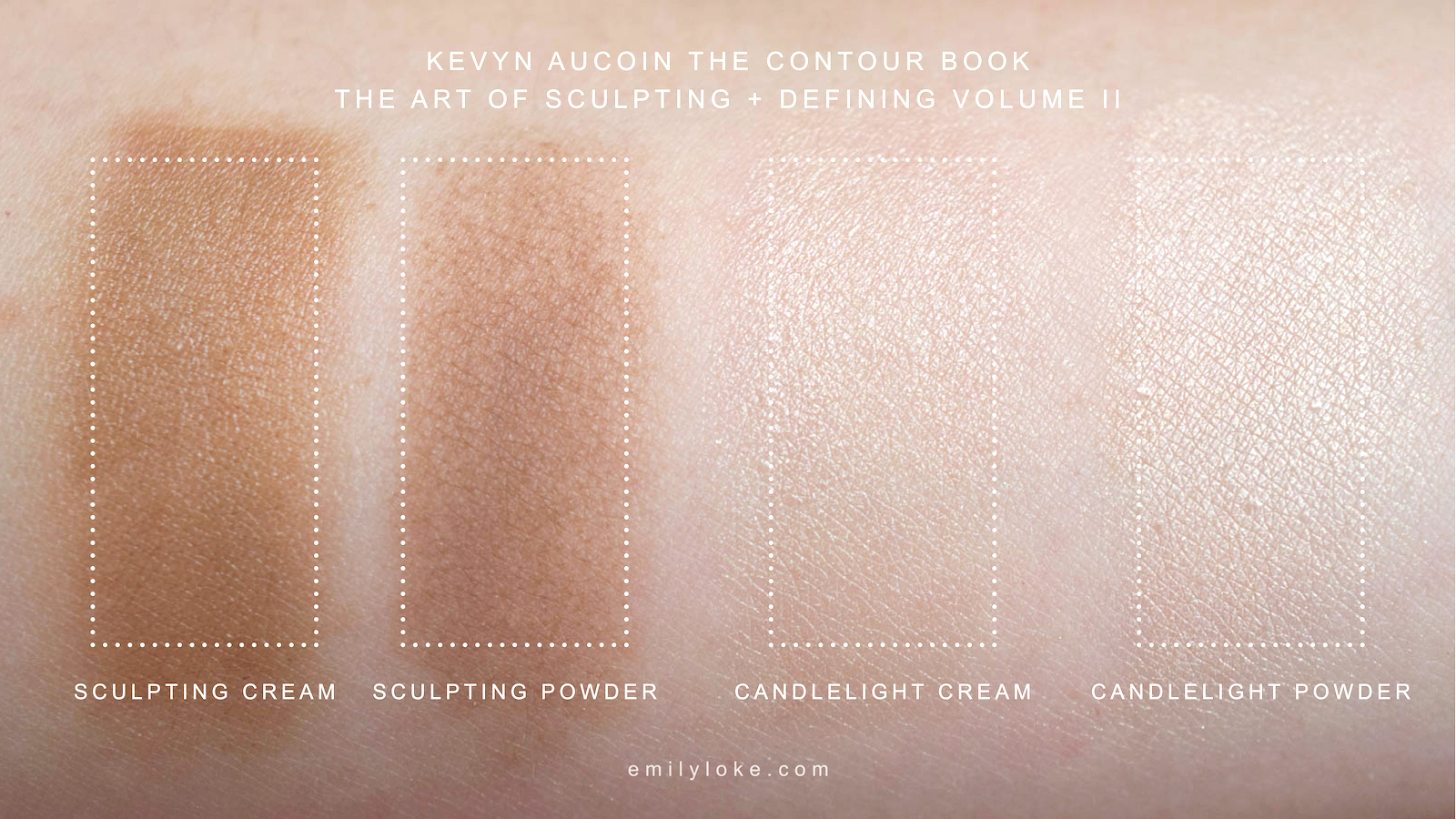 Kevyn Aucoin Contour Book Vol 2 Swatches 1