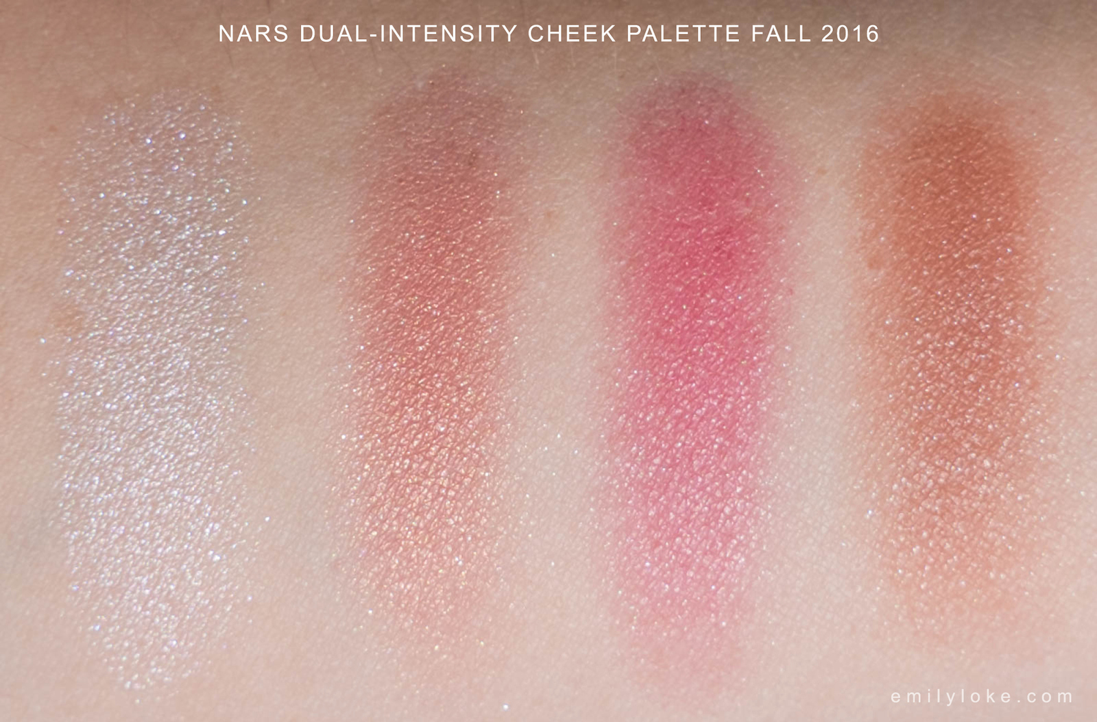 NARS Dual Intensity Cheek Palette