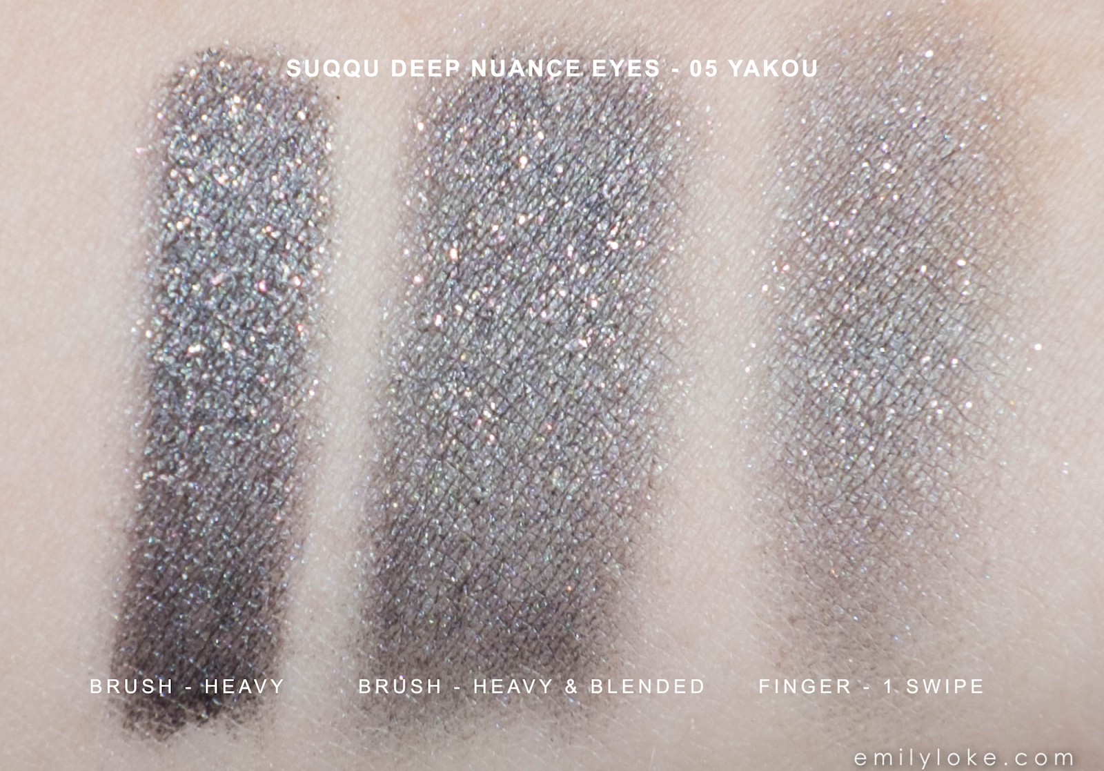 Suqqu Deep Nuance Eyes Yakou swatches 1