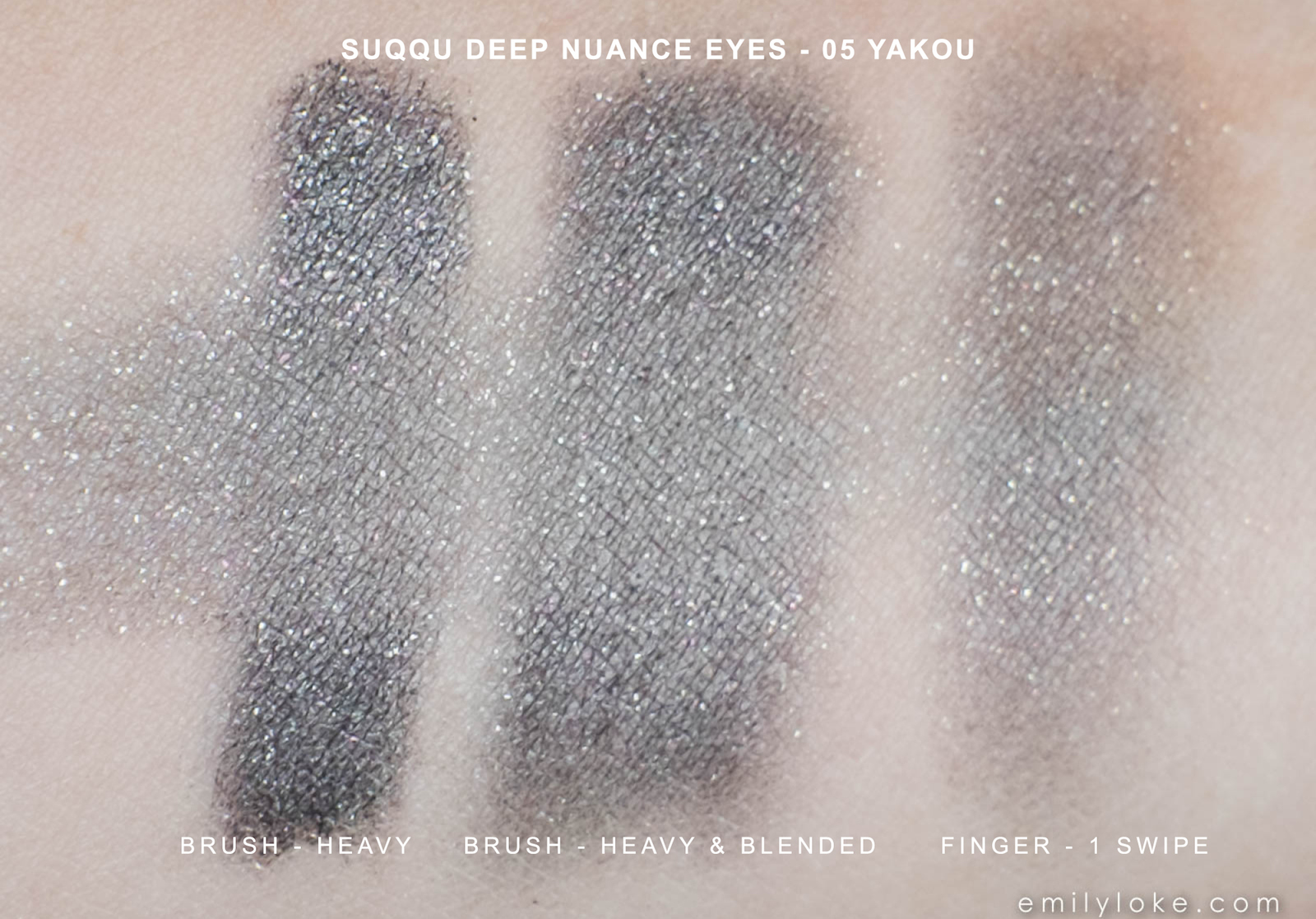 Suqqu Deep Nuance Eyes Yakou swatches 2
