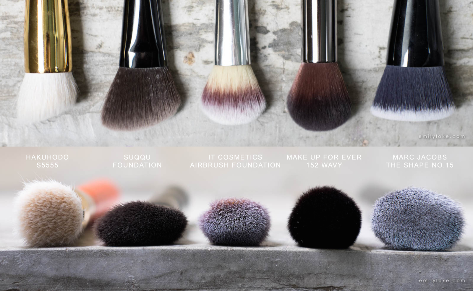 suqqu foundation brush comparison
