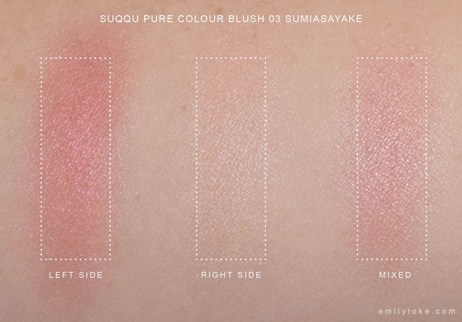suqqu pure colour blush 03 sumiasayake