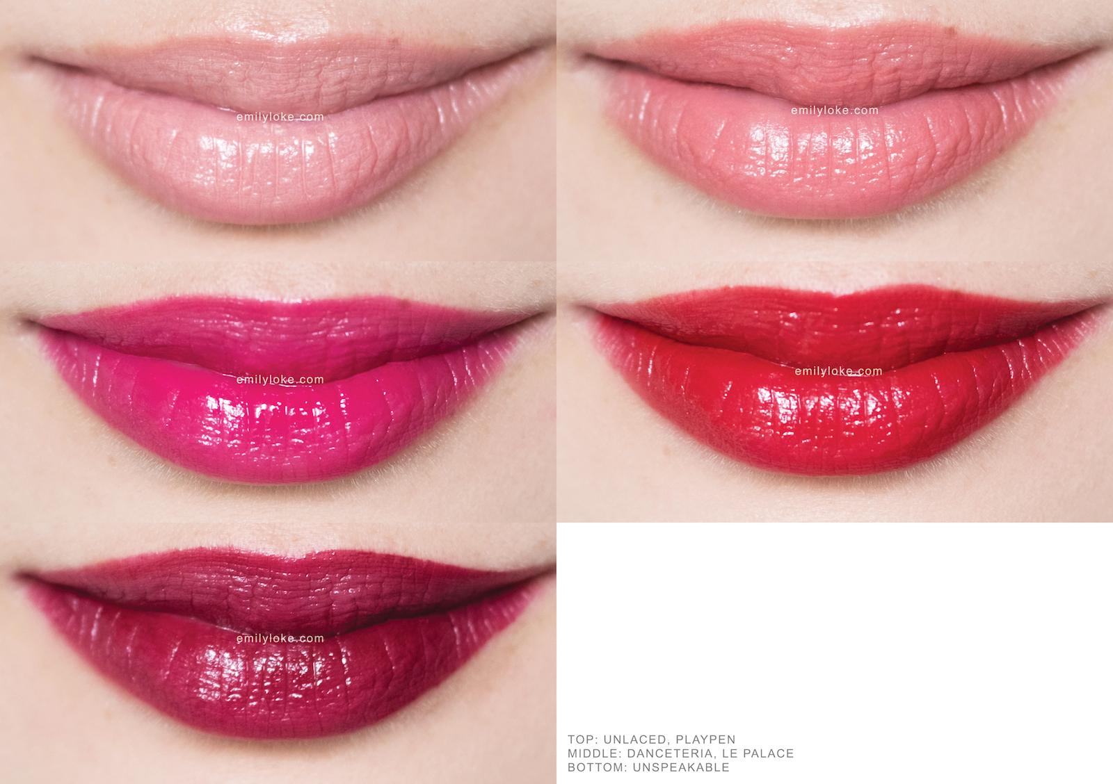 nars velvet lip glide swatches 1