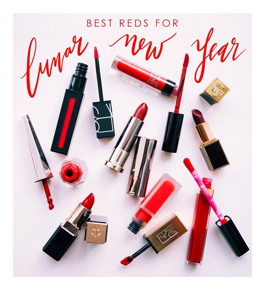 New blog post My top 8 red lipstick picks forhellip