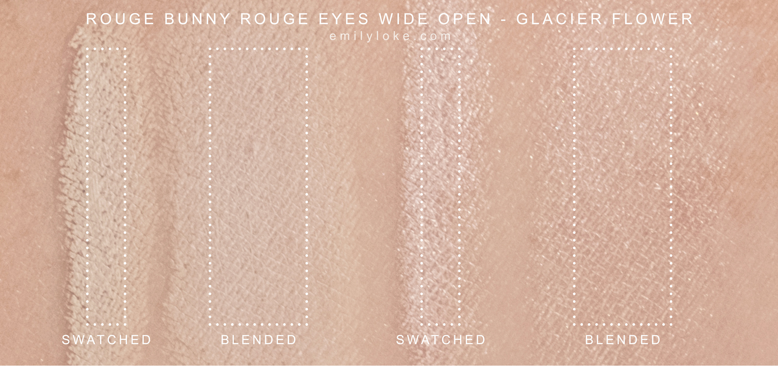 Rouge Bunny Rouge Glacier Flower Swatches