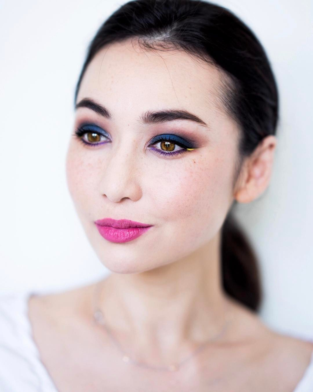 New blog post a very colourful FOTD  some swatcheshellip