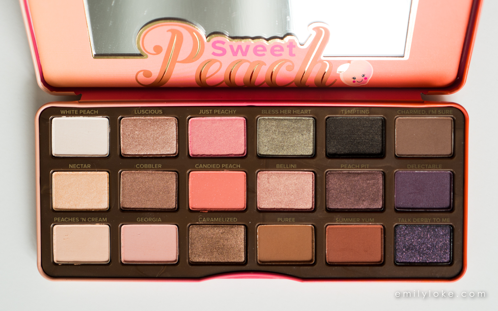 too faced sweet peach eyeshadow palette 4