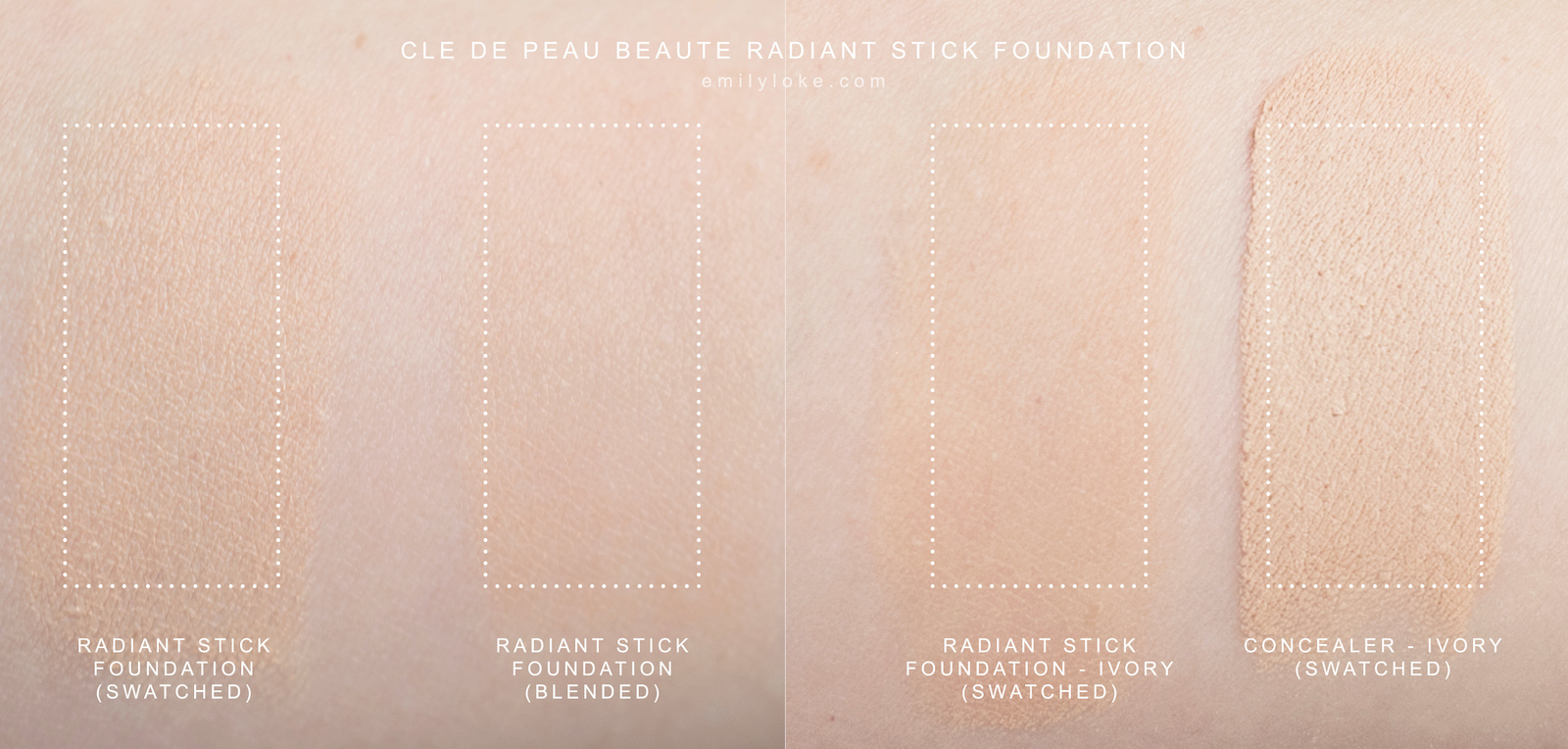 cle de peau radiant stick foundation 2