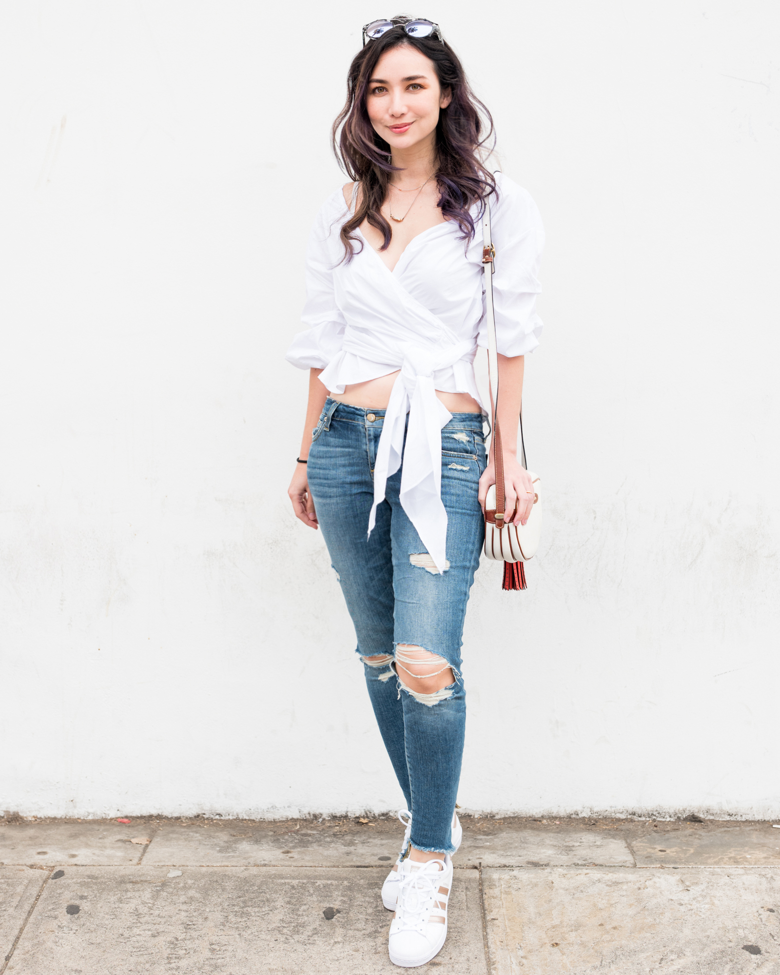 wrap blouse 1