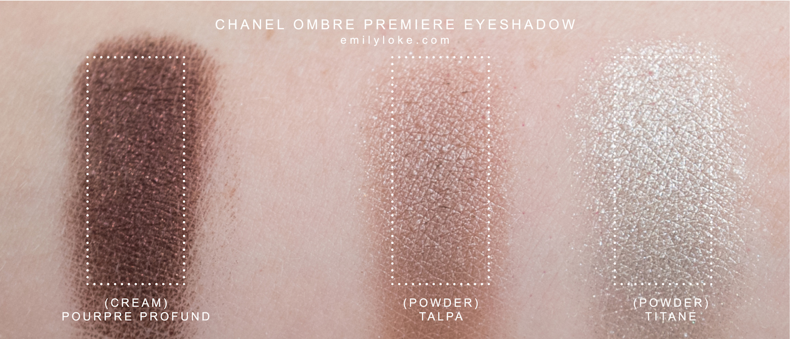 CHANEL ombre premiere eyeshadow swatch
