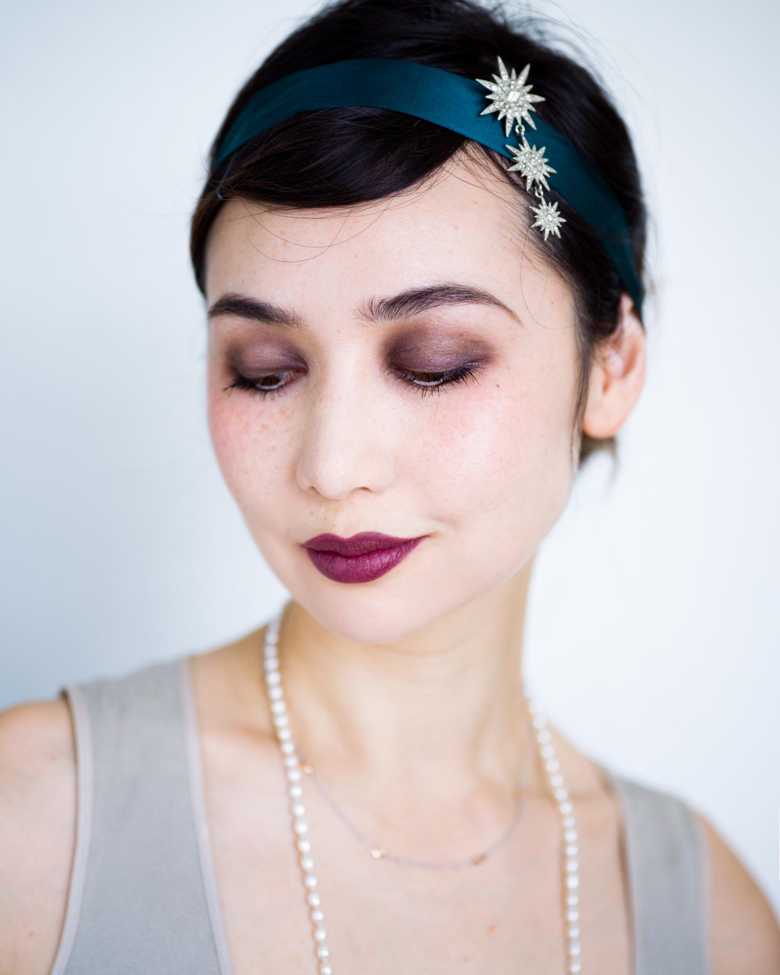 flapper 20's makeup 1