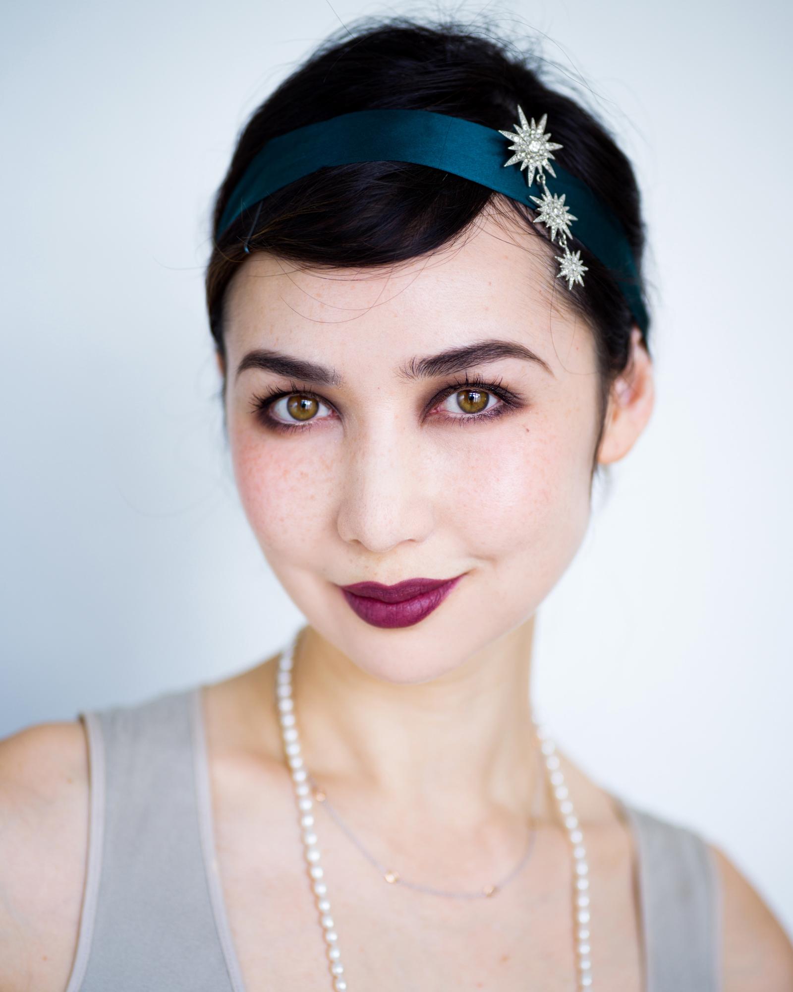 flapper 20's makeup 2