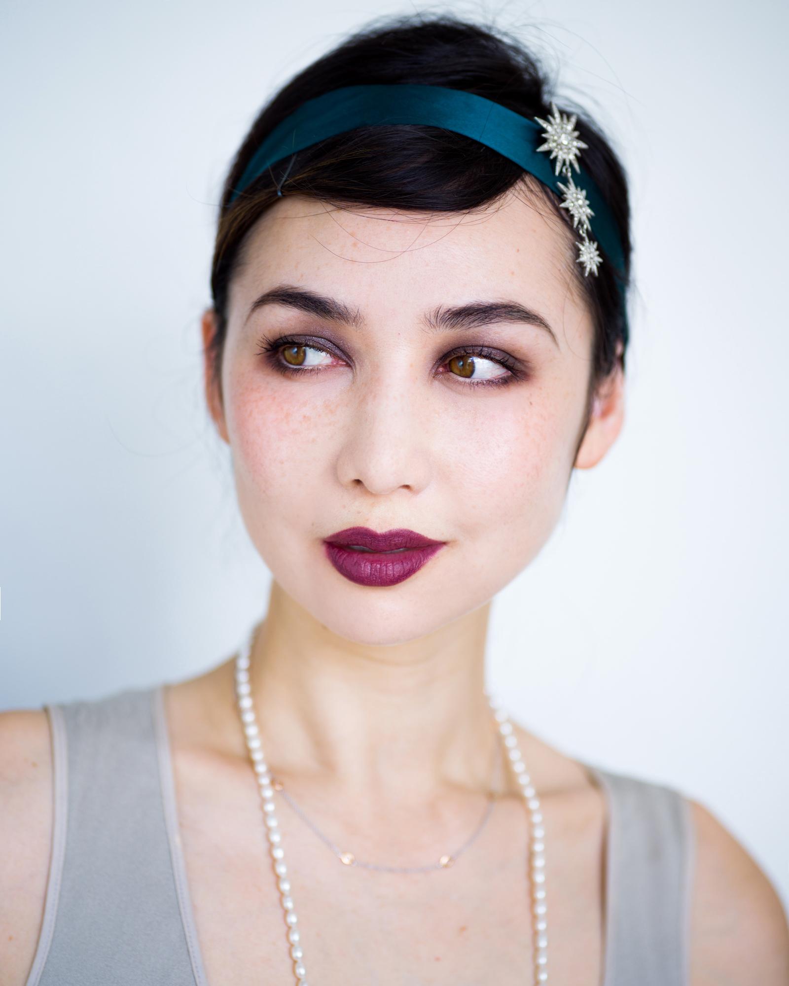 flapper 20's makeup 3