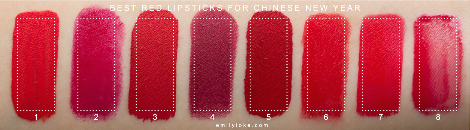Best CNY Lipsticks
