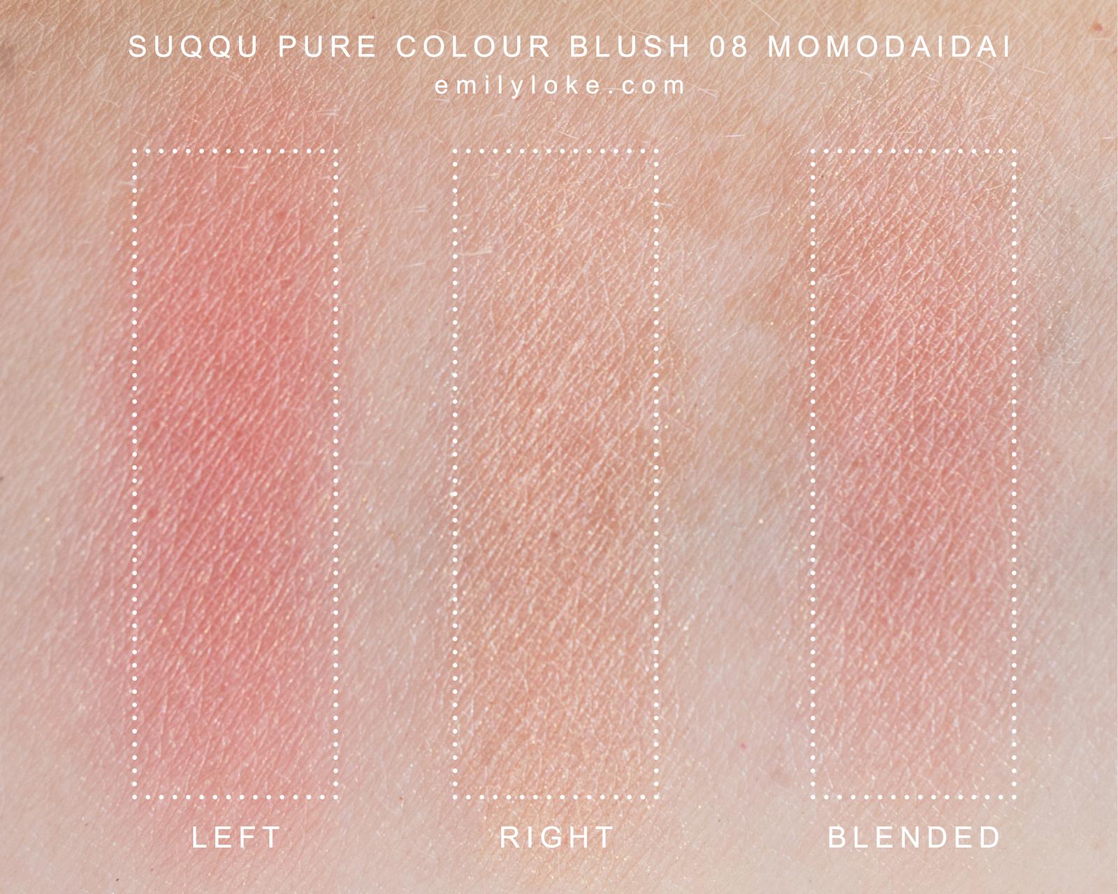 SUQQU blush 08 momodaidai