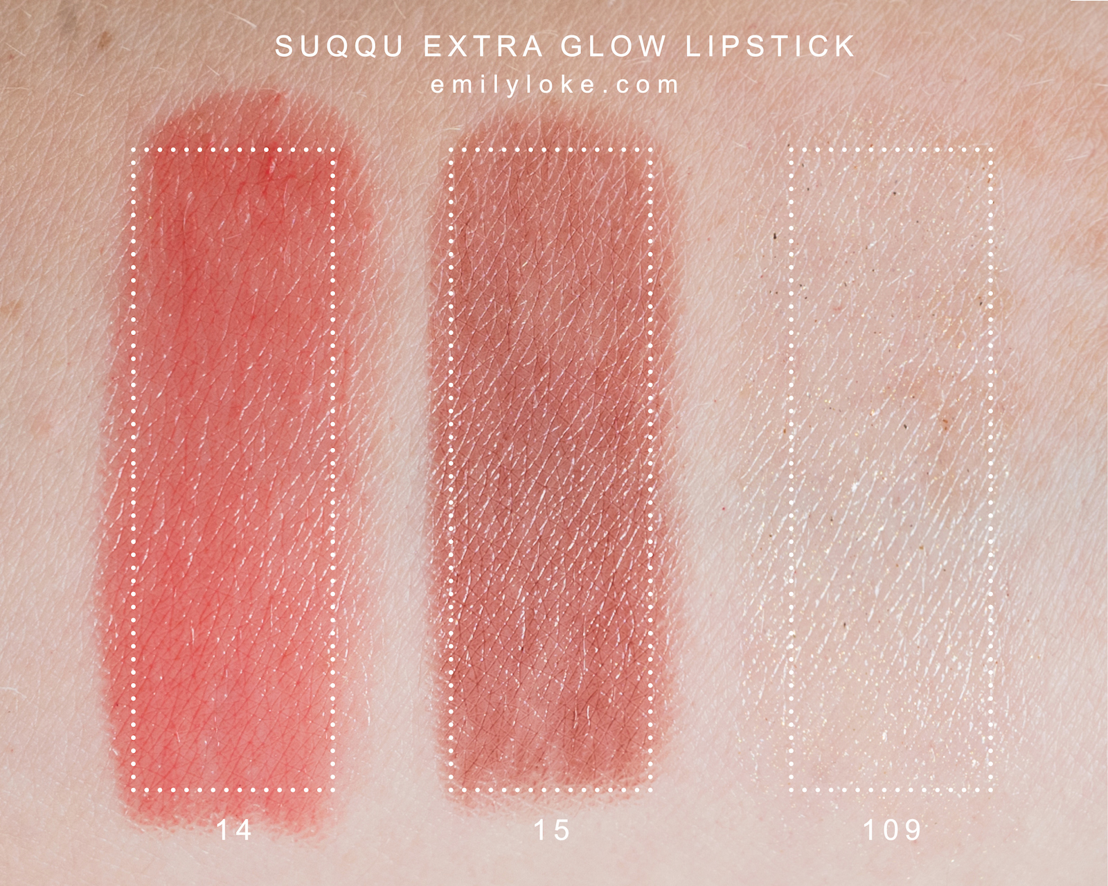 SUQQU extra glow lipstick