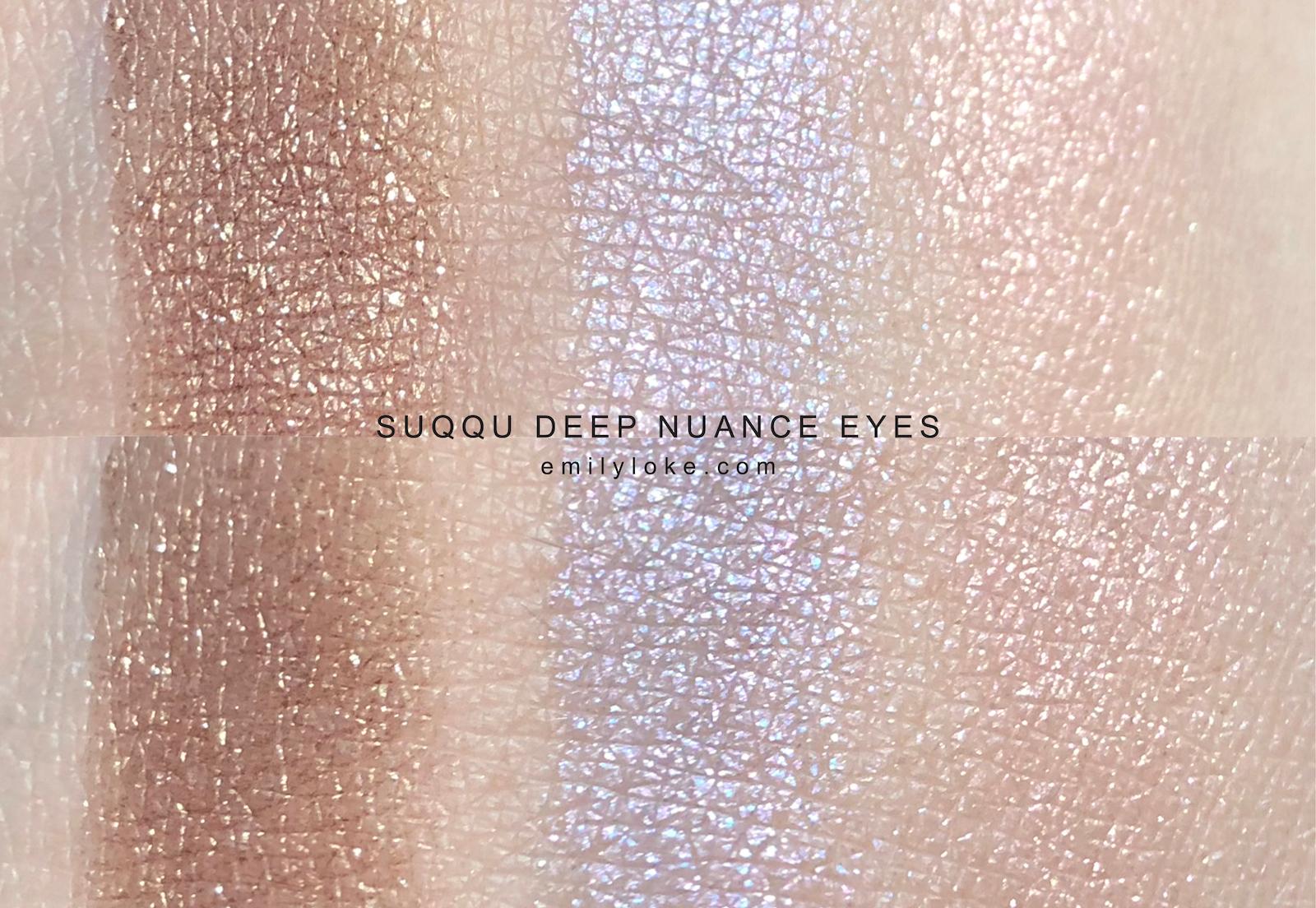 suqqu deep nuance eyes 102 103 104