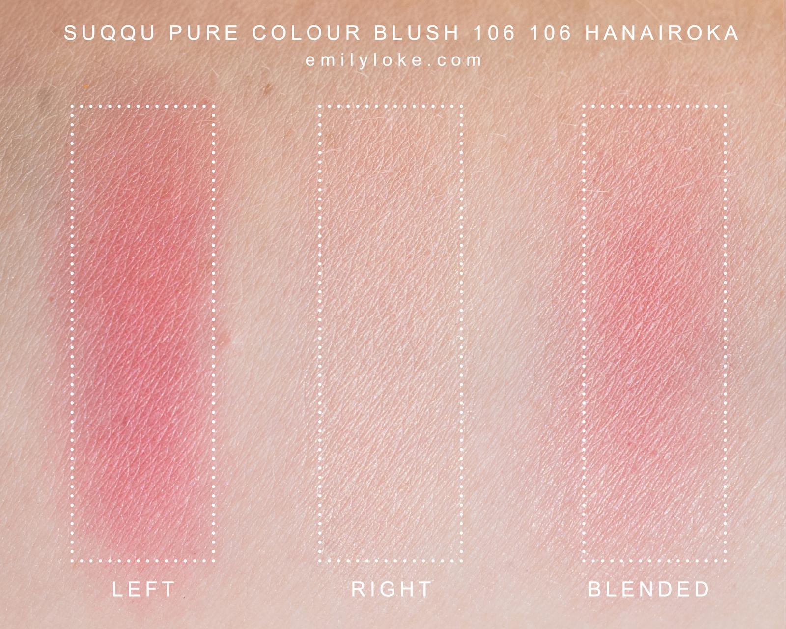suqqu pure colour blush 106 106 Hanairoka