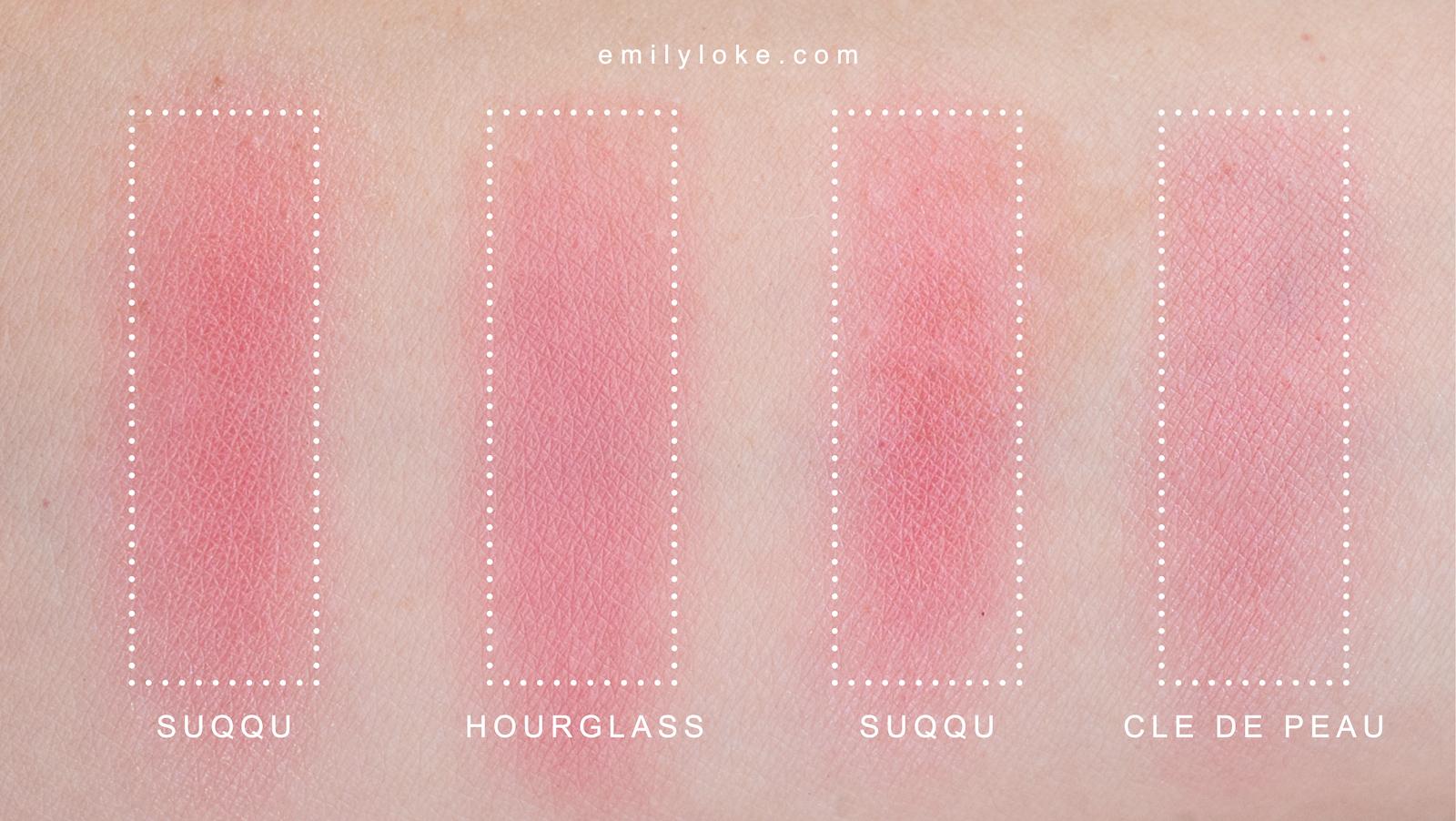 suqqu pure colour blush dupe 3